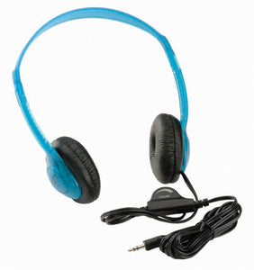 Multimedia Stereo Headphone Blue Califone - Learning Headphones