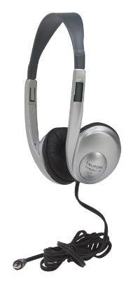 Multimedia Stereo Headphone - Silver - without Volume Control - Learning Headphones