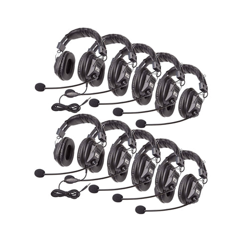 3068-style Headset with To Go Plug - 10 Pack - without Case - Learning Headphones