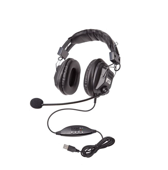 3068-style Headset with USB plug - Learning Headphones