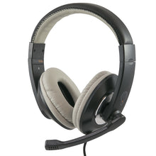 Load image into Gallery viewer, ThinkWrite Ultra Durable Headset with 3.5mm Plug - Black - Learning Headphones