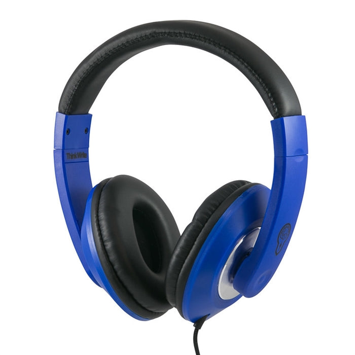 ThinkWrite Ultra Durable Headphone with 3.5mm Plug - Navy - Learning Headphones