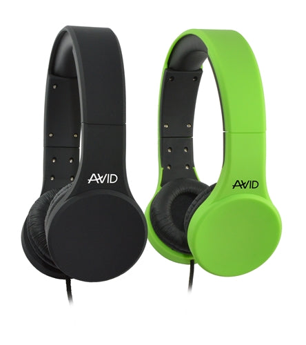 Stereo School Headset with In-line Mic - Learning Headphones