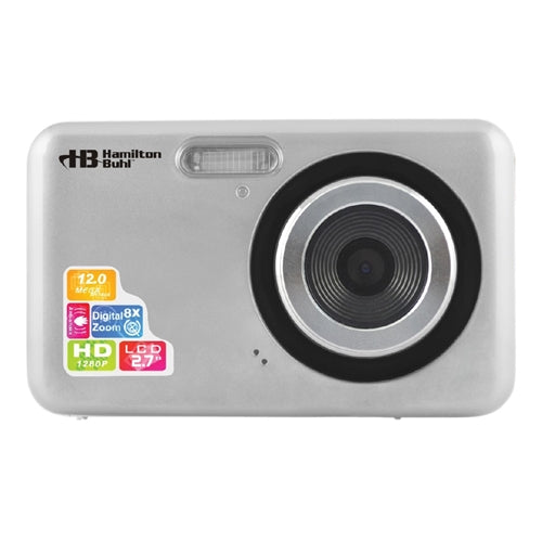 12MP Digital Camera with Flash and 2.4