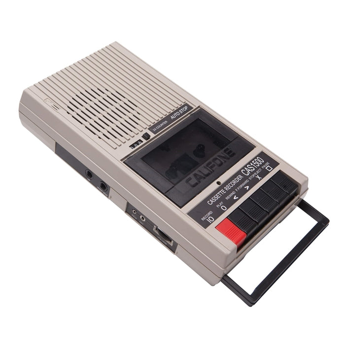 Cassette Recorder-Player - Learning Headphones