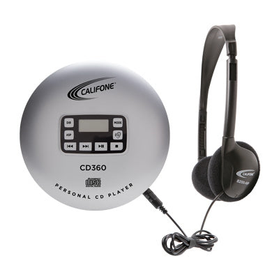 Personal CD Player - Learning Headphones