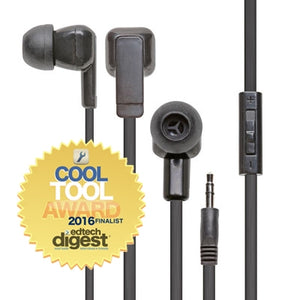E3 Ear Bud 100 Pack - Learning Headphones