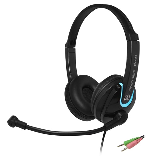 EDU-255 On-Ear Stereo PC Headset - Learning Headphones