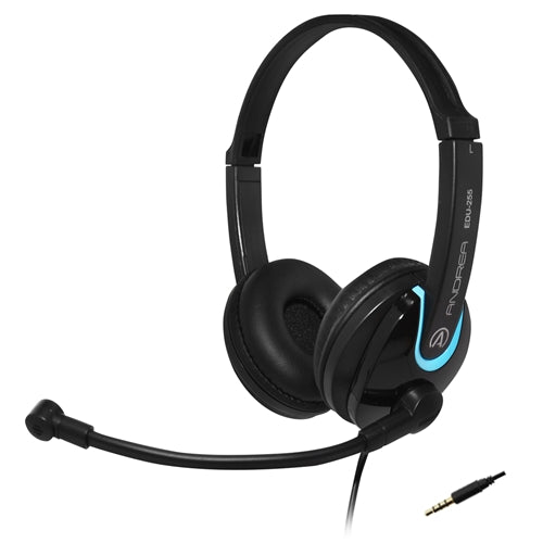 EDU-255M On-Ear Stereo Mobile Headset - Learning Headphones