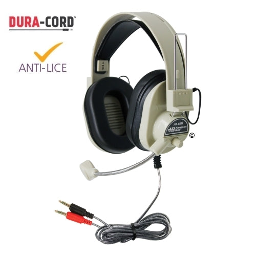 Deluxe Multimedia School Headset with Mic - Learning Headphones