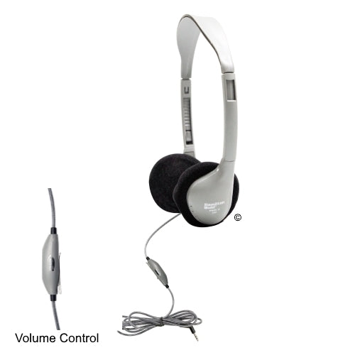 SchoolMate On-Ear Stereo Headphone with in-line Volume - Learning Headphones