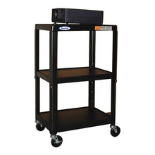 "Load image into Gallery viewer, Steel Cart Adjustable 26"" to 42"" with Electric - Learning Headphones"
