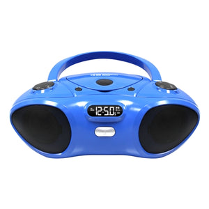 Boombox with Bluetooth Receiver CD FM Media Player - Learning Headphones