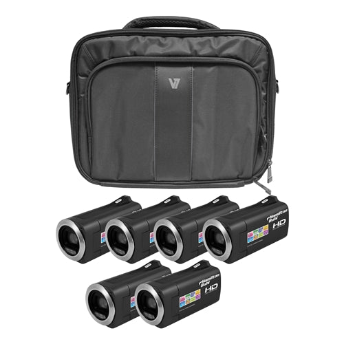 HD Camcorder Explorer Kit with 6 Cameras Software and Case - Learning Headphones