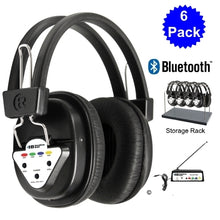 Load image into Gallery viewer, Wireless Listening Center with Headphones and Bluetooth Transmitter - Learning Headphones
