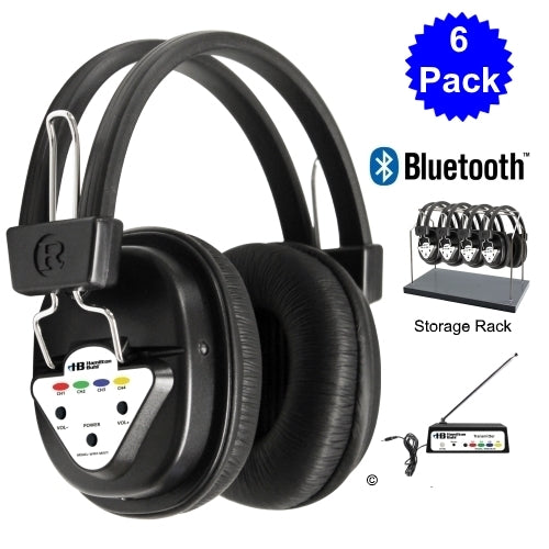 Wireless Listening Center with Headphones and Bluetooth Transmitter - Learning Headphones