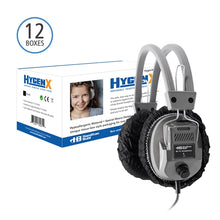 "Load image into Gallery viewer, Disposable Ear Cushion Covers 4.5"" Deluxe Master Carton 12 boxes - Learning Headphones"