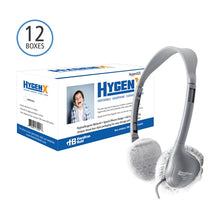 Load image into Gallery viewer, 600 Pair HygenX Sanitary Ear Cushion Covers for School Headphones - Learning Headphones
