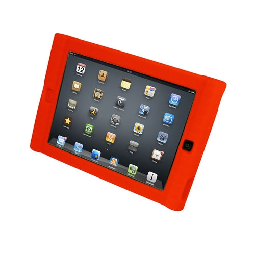 Kids Red iPad Mini Protective Case - Learning Headphones