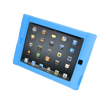 Load image into Gallery viewer, Kids Blue iPad Protective Case - Learning Headphones