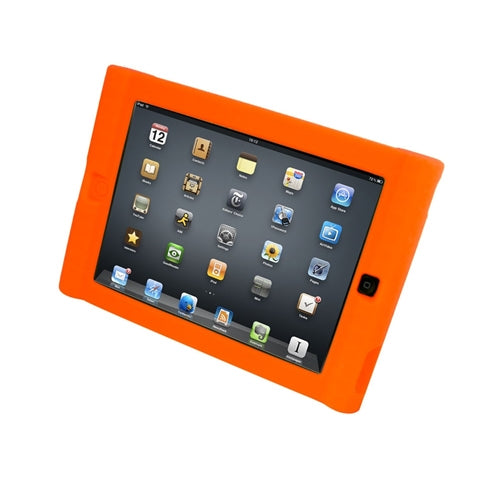 Kids Orange iPad Protective Case - Learning Headphones