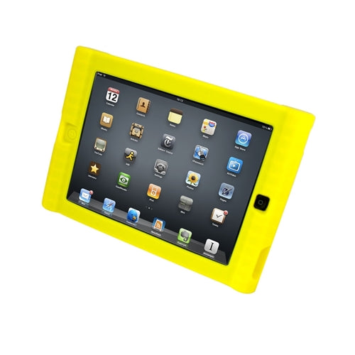Kids Yellow iPad Protective Case - Learning Headphones