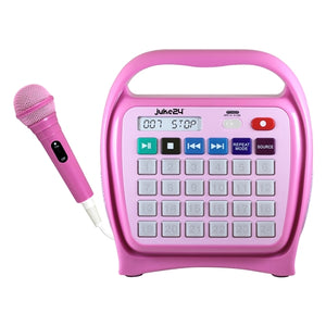 Juke 24 Media Player in Pink - Learning Headphones
