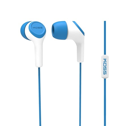 School Earbud w-Mic KEB15i - Learning Headphones