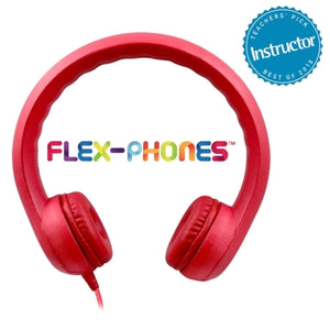 Flex-Phones Foam Headphones - Learning Headphones