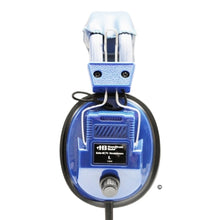 Load image into Gallery viewer, Blue Deluxe Stereo Headphone with Volume Control - Learning Headphones