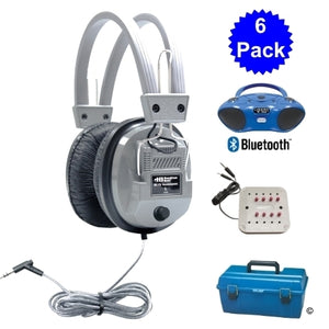 Val-U-Pak Bluetooth Listening Center 6 Station - Learning Headphones