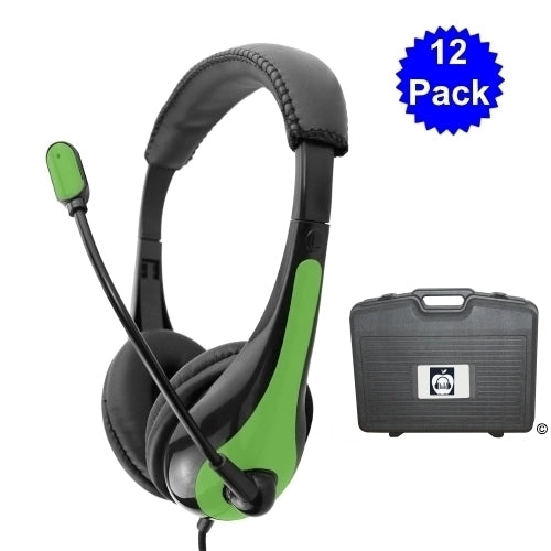 Classroom Pack with Advanced School Headset - Learning Headphones