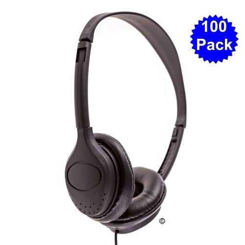 100 Pack School Headphones LH-313 - Learning Headphones