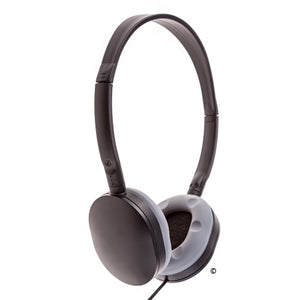 School Headphone with Soft Grey Earcup LH-55 - Learning Headphones