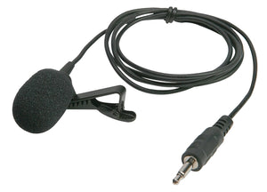 Electret Lapel Microphone - Learning Headphones