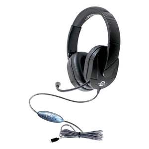 MACH-2™ USB Type -C Multimedia Stereo Headset - Over-Ear with Steel Reinforced Gooseneck Mic
