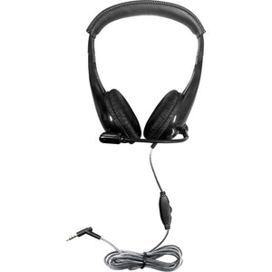 Motiv8 Multimedia Headset with Steel-Reinforced Gooseneck Microphone - Learning Headphones