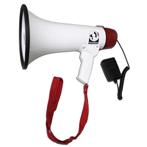 Mighty Mic 15 Watt Megaphone with Voice Recording, External Mic - Learning Headphones