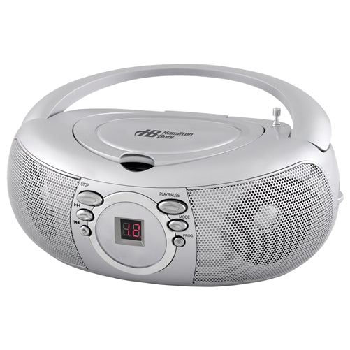 Top CD Boombox w- AM-FM Radio - Learning Headphones
