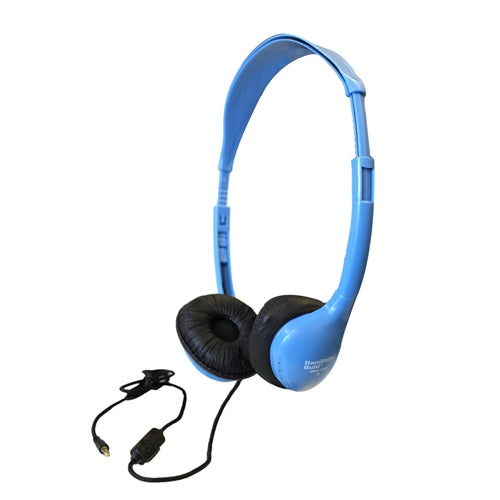 School Headset with In-Line Microphone and TRRS Plug - Learning Headphones