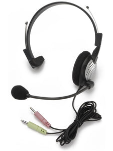 NC-181 On-Ear Mono (Monaural) PC Headset - Learning Headphones
