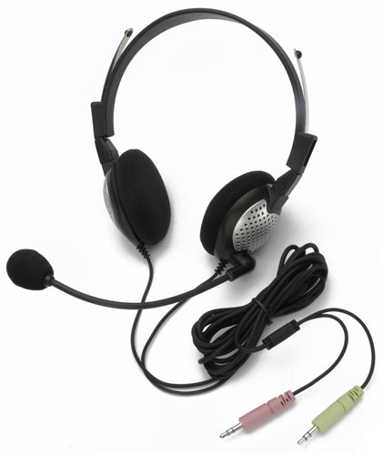NC-185 On-Ear Stereo PC Headset - Learning Headphones