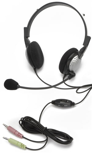 NC-185 VM On-Ear Stereo PC Headset - Learning Headphones