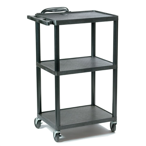 Plastic AV Cart Adjustable from 16