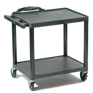 "Plastic AV Cart Adjustable from 16"" to 42"" - Learning Headphones"