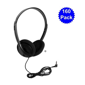 Personal Economical Headphones 160 Pack - Learning Headphones