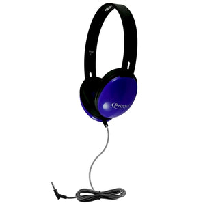 HamiltonBuhl Primo Stereo Headphones (Blue) - Learning Headphones