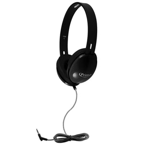HamiltonBuhl Primo Stereo Headphones (Black) - Learning Headphones