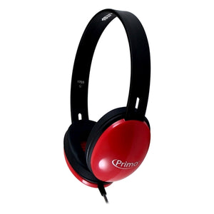 HamiltonBuhl Primo Stereo Headphones (Red) - Learning Headphones