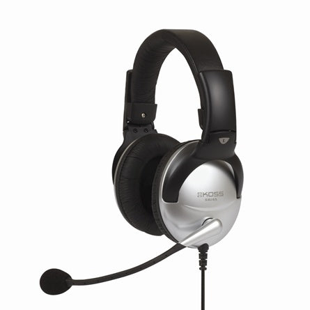 SB45 Multimedia Headset w-Mic Passive Noise Cancellation - Learning Headphones